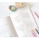 Free note - Make it happen undated monthly planner ver.2