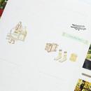 Mori illustration deco sticker set