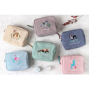 Tailorbird pastel frame square pouch