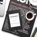 Black - Vintage undated journal scheduler
