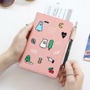 Pink - Ghost pop RFID blocking passport case