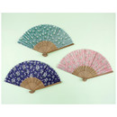 Flower pattern lovely folding fan