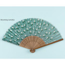 Blooming camellia - Flower pattern lovely folding fan