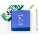 Look at me - Du dum 100 days illustration desk planner