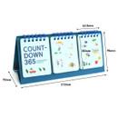 Size of Doran doran flip perpetual desk calendar