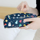Navy - Ghost pop boo small pouch