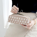 Beige - Ghost pop boo small pouch