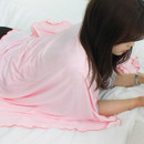 Baby pink - Afternoon hello rayon blanket