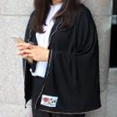 Black - Afternoon hello rayon blanket