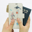 Whale - Rim diary flip case for iPhone 6