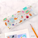 My puppy - Bon Bon clear folding pencil case