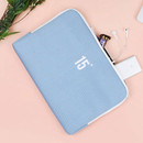 Sky blue - Table talk 15 inches laptop air mesh pouch