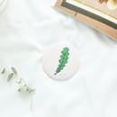 Foliage - Jam Jam cute pattern round hand mirror