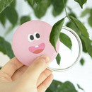 Pink eyes - Som Som round hand mirror