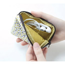 Warm breeze pattern card case holder