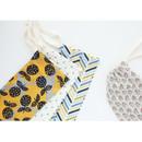 Warm breeze pattern drawstring pouch