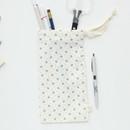Snowbell - Warm breeze pattern drawstring pouch
