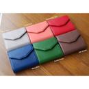 Colors of Happy holiday half clutch wallet
