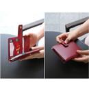 Start of travel RFID blocking passport cover