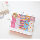 Size of Sweet somsom sticky memo notes bookmark
