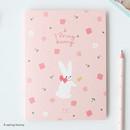 A spring bunny - Piyo cute 3X5 slip in pocket photo album