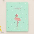 Flamingo - Piyo cute 3X5 slip in pocket photo album