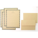 D - Especially for you kraft letter paper and envelope set