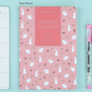 Rose rabbit - 2017 Ardium Pattern monthly dated planner
