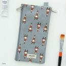 Cone - Jam Jam pattern zipper pouch