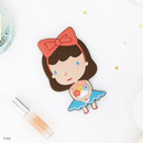 Lucy - Romane Hello geeks pocket round hand mirror