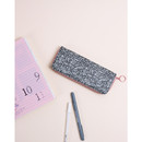 Glitter - Avec chic zip around pencil case