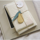 For your heart paper gift tag set
