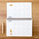 Calendar - Bookcodi Molang undated weekly desk scheduler