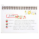 Free note - Bookcodi Molang undated weekly desk scheduler