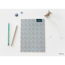 Berries - Plannary Breezy windy lined notebook
