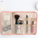 Pink - Brunch brother roll up organizer pouch