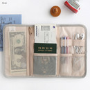 Gray - Brunch brother roll up organizer pouch