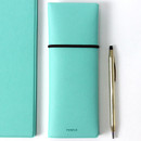 Mint - Fenice Office pencil case with elastic band