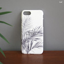 Leaf - Iconic Pattern matte plastic hard case for iPhone 7