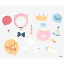 Back - Dailylike Baby photo stick props set