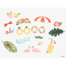 Front - Dailylike Holiday photo stick props set