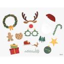Back - Dailylike Christmas photo stick props set