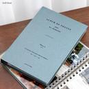 Indi blue - Album de photos 3X5 slip in photo album