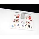Choo Choo cat big bling deco sticker