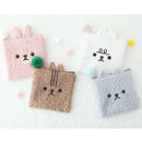Popuree poodle small zipper pouch