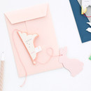 Livework Paper mobile card with envelope set - Spring rabbit