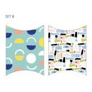 B - Livework Promenade gift paper bag medium set of 4 styles