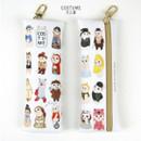 Costume - Choo Choo cat slim pencil case