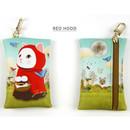 Red hood - Choo Choo cat card case holder