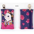 Wori - Choo Choo cat card case holder